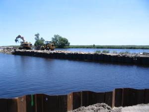Fundación Breakwater Reforzada con Tablestaca