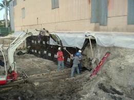 Excavación Tablestacas Paredes