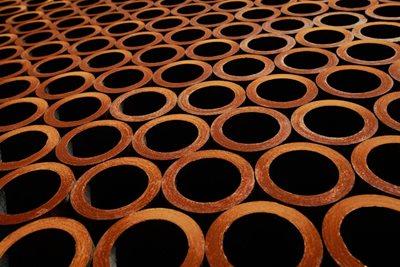 Tubos redondos aislamiento para tuberías