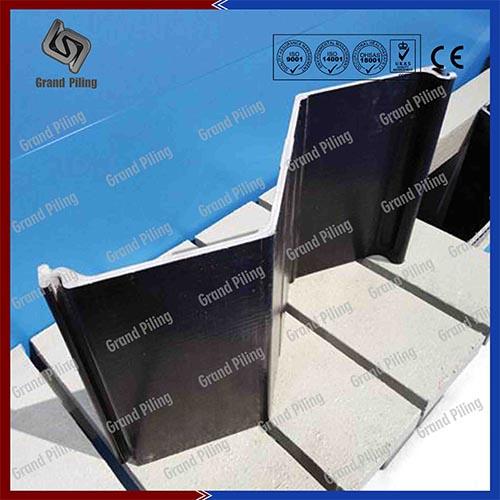 Tablestacas de Aluminio